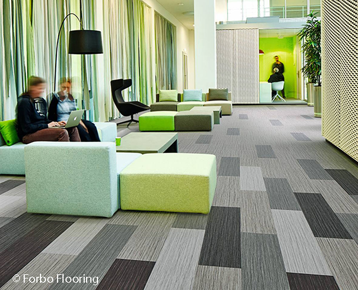 Flotex Planks Seagrass Roomshot 111001 111002 111003 111004 111006